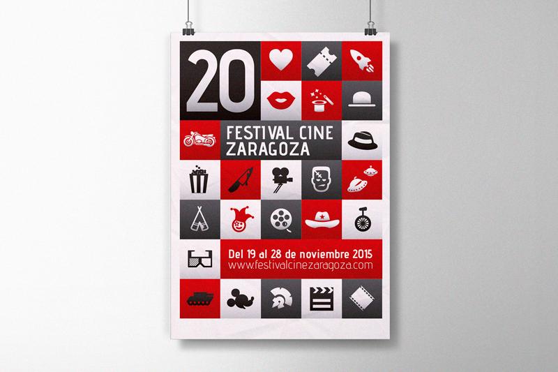 Cartel · 20 Festival de Cine de Zaragoza